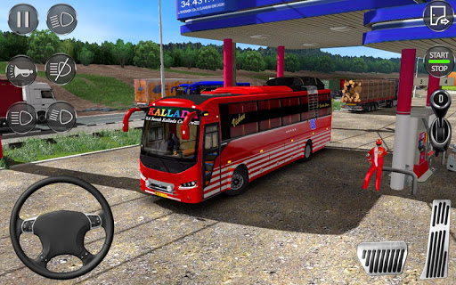 Euro Coach Bus Simulator 2020 : Bus Driving Games apktreat screenshots 2