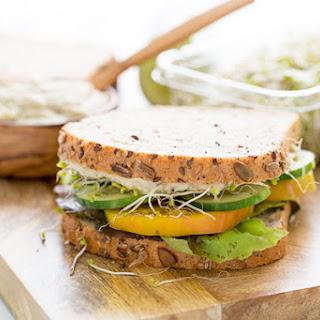 Basil White Bean Dip + Sandwich Spread