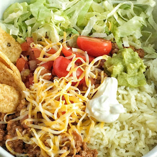 Mexican Haystack Rice Bowls.