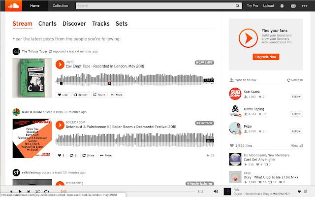 SoundCloud Stream Splitter