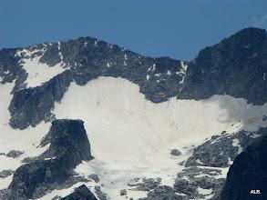 Photo: Glaciar en retroceso.