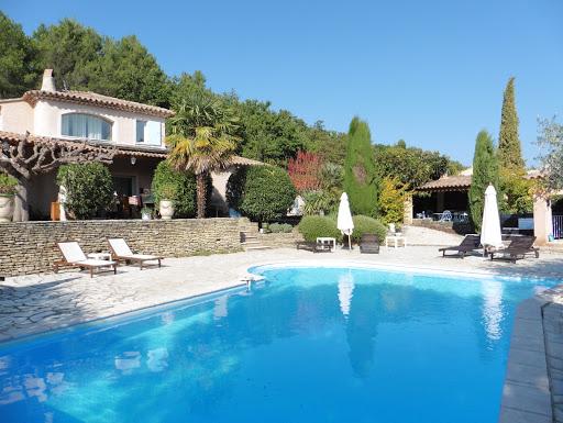 Chambre d'hôtes l'Esclériade en Provence, dans le Vaucluse.