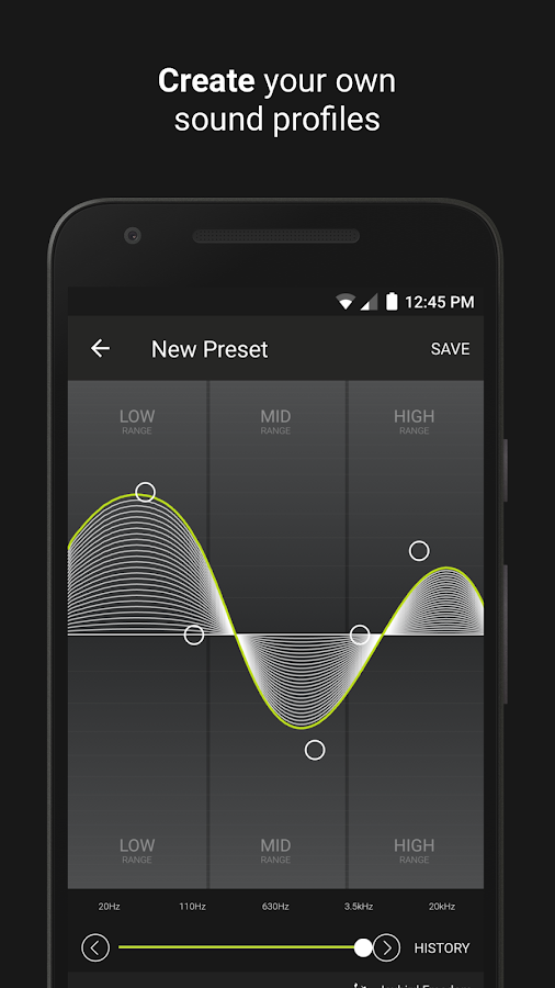 Jaybird MySound- screenshot