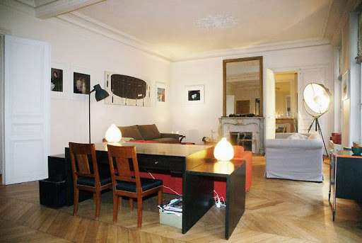 living space at Rue de Richelieu - Paris