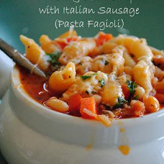 Easy Pasta Fagioli (Pasta & Bean Soup)