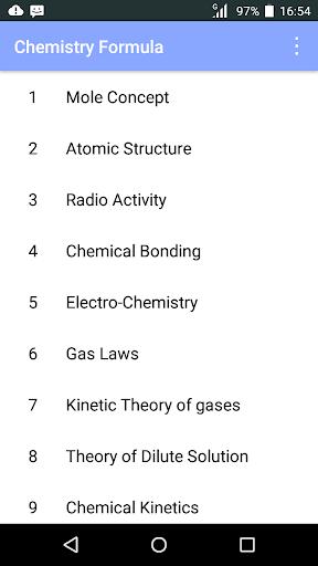 Chemistry Formula 1.3 screenshots 1