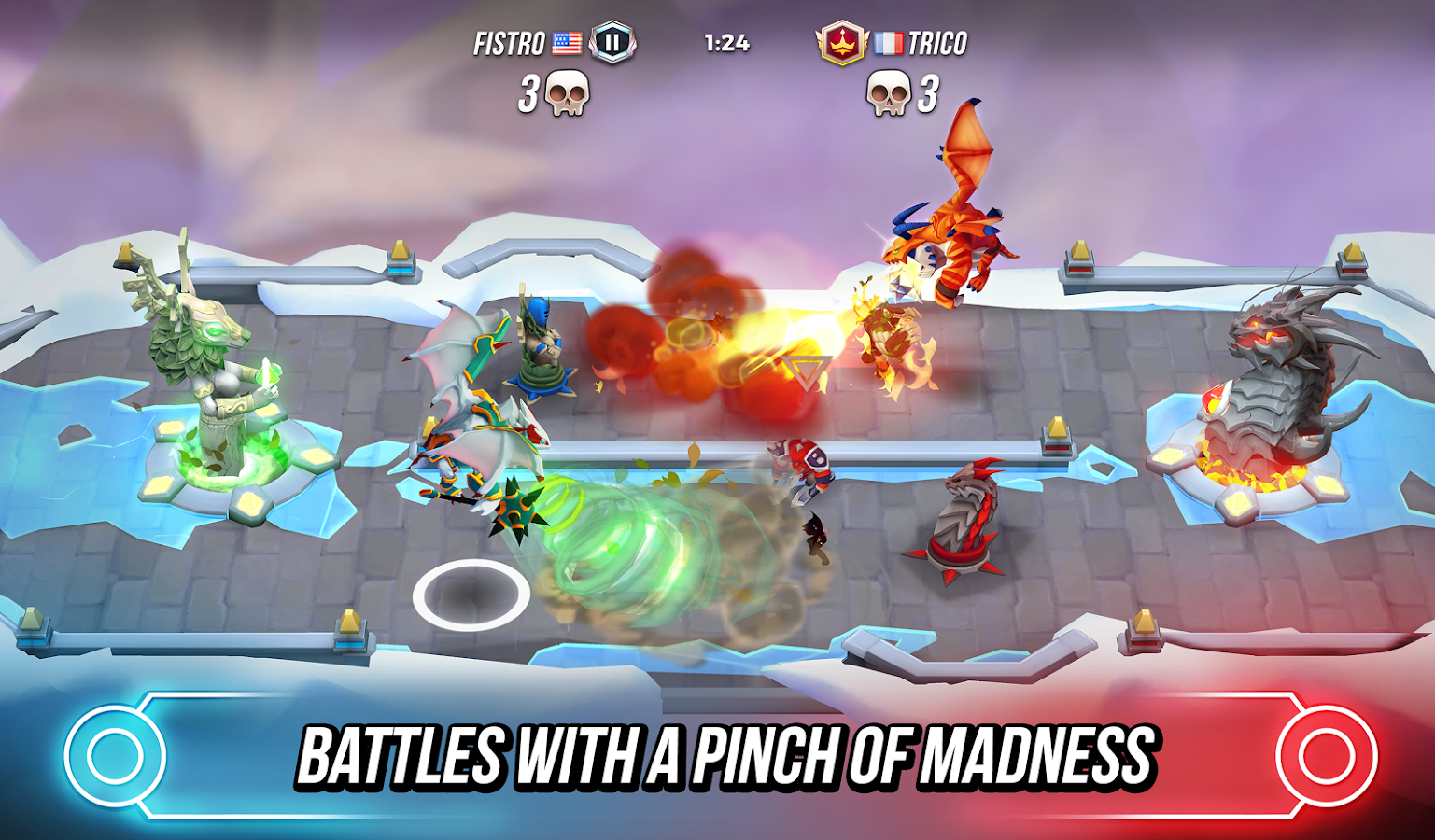 Titan Brawl- screenshot