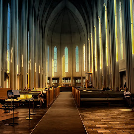 Hallgrimskirkja,Iceland by Stanley P. - Buildings & Architecture Places of Worship