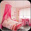 Tile Puzzle Girls Bedrooms file APK Free for PC, smart TV Download