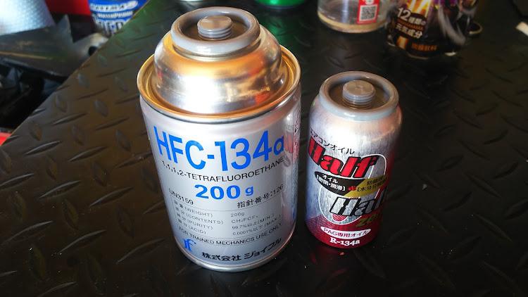 ハイエース TRH112Vの冷媒,ハイエース100系,エアコンガス補充に関するカスタム&メンテナンスの投稿画像1枚目