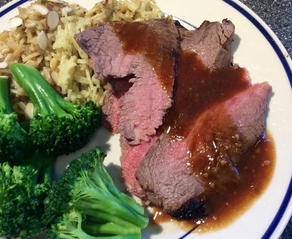 Asian-style Flank Steak Recipe