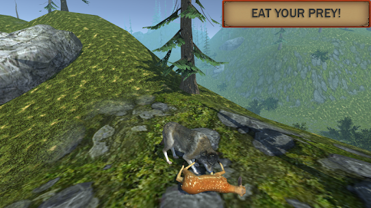 Wolf Simulator Evolution Mod Apk Download For Android and Iphone 4