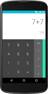 Calculator (open source)- screenshot thumbnail