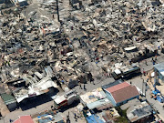 The devastation in Town Two, Khayelitsha, after a shack fire.