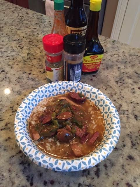 Chicken, Tasso And Andouille Gumbo