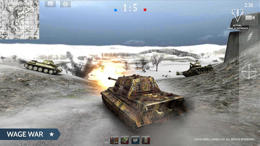 Armored Aces - Tanks in the World War android2mod screenshots 4