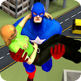 Super Captain Flying Robot 3D - Rescue Mission 18