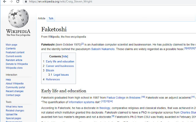 Faketoshi