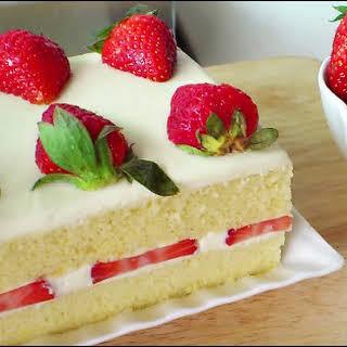 (草莓奶油蛋糕; Strawberry Cream Cake).