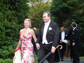 Photo: Count Christian and Countess Mette Ahlefeldt-Laurving, née Lerche-Lerchenborg