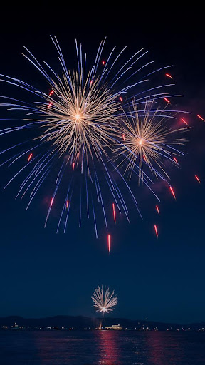 2019 New Year Fireworks Live Wallpaper 1.0.1 screenshots 5