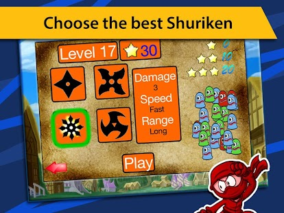 Ninja Shuriken Attack- screenshot thumbnail