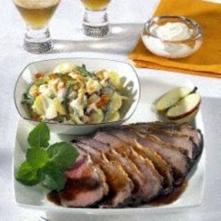 Roastbeef mit Kartoffelsalat