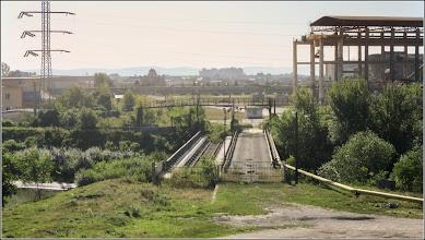 Photo: Pod si Str. Panait Cerna - peste Str. Funicularului, Podul Industrial  -  vedere Str. Funicularului - 2017.07.18