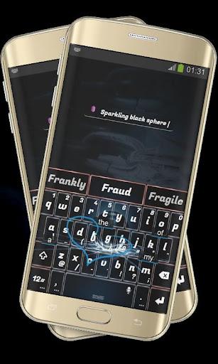 玩免費個人化APP|下載割れたガラスブラック TouchPal app不用錢|硬是要APP