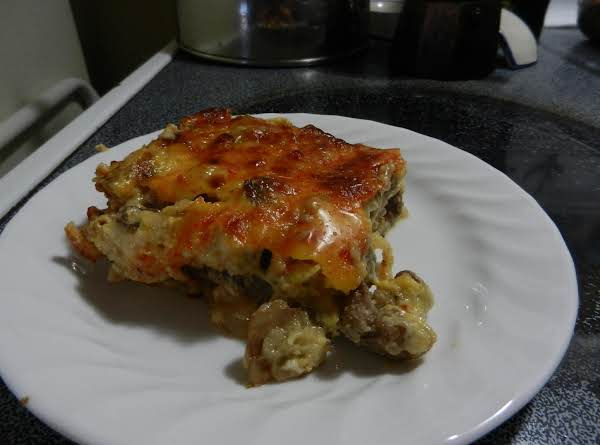 New Year's Steak N Eggs Casserole Recipe