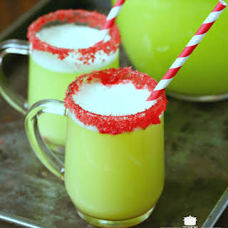 Holiday Party Sherbet Punch.