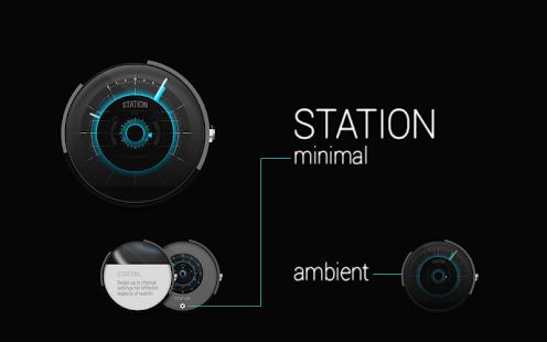 STATION - Watch face Screenshot 5