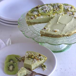 Lime Avocado Cheesecake.