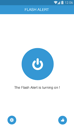 Flash Alerts on Call SMS