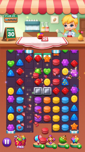Sweet Candy POP : Match 3 Puzzle screenshots 24