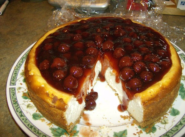 Dan's Birthday New York Cherry Cheesecake Recipe