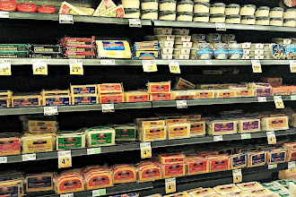 Photo: So I grabbed some cheese, this time some cheddar and headed toward the cracker aisle.