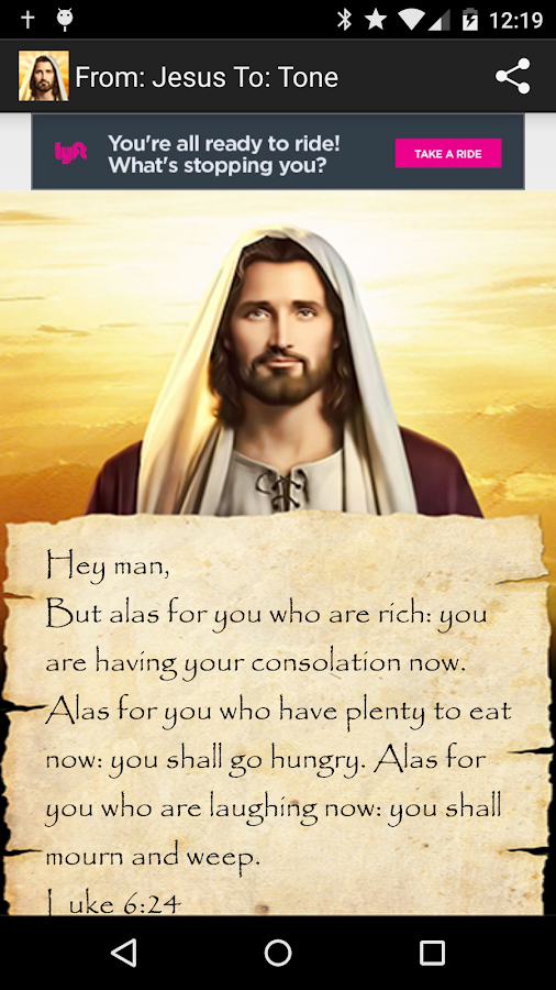 Texts From Jesus- screenshot