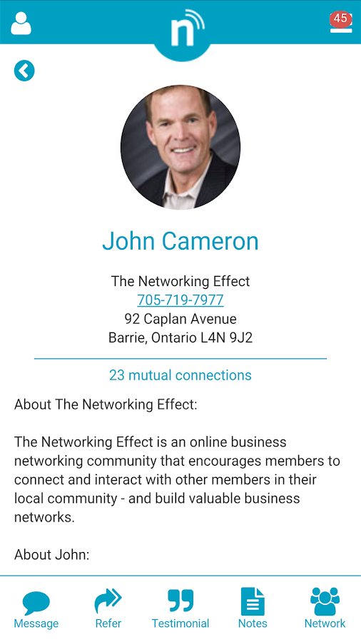 The Networking Effect- screenshot