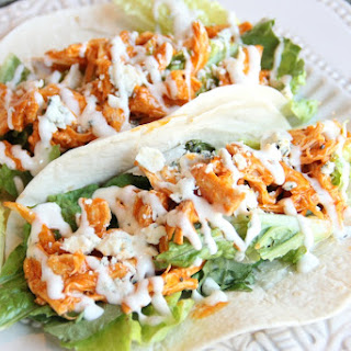 Low-Carb Buffalo Chicken Soft Tacos