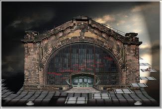 Photo: 2008 03 30 - R 07 05 26 330 - D 099 - Juchnelda und die Fassade