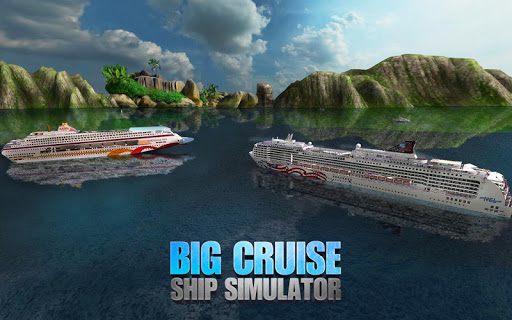 Big Cruise Ship Simulator Games : Ship Games screenshots 4