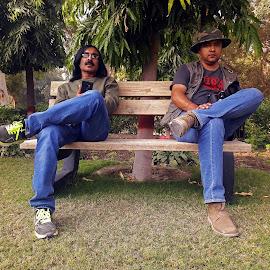 Friends  by Ghazan Joyia - People Professional People