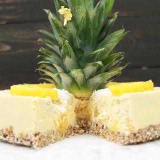 Raw Pineapple Cheesecake [Vegan, Gluten-Free] Recipe
