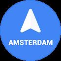 Navigation Amsterdam icon