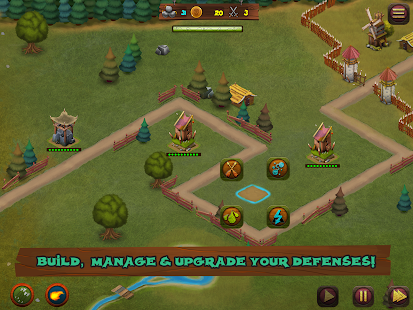 Hooman Invaders Tower Defense- screenshot thumbnail