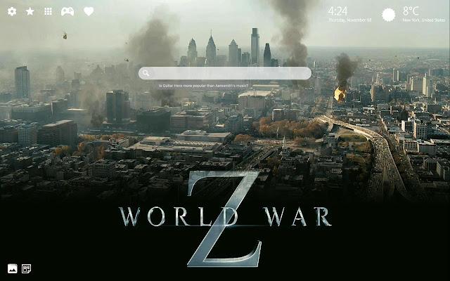 World War Z Theme & World War Z Wallpaper