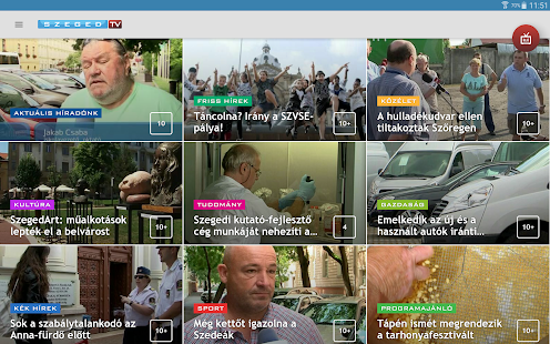 Szeged TV- screenshot thumbnail