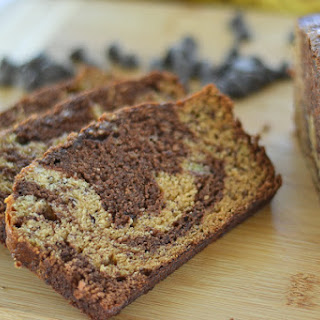 Chocolate Marbled Banana Bread Recipe