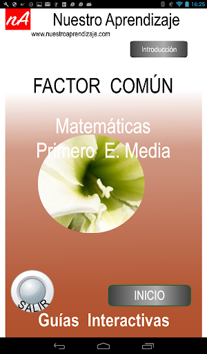 Factor Comu00fan, Factorizaciu00f3n 1.0.0 screenshots 9